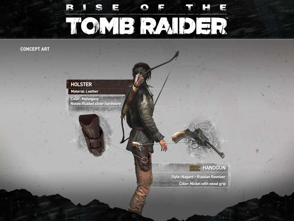 Rise of the Tomb Raider Gear 3