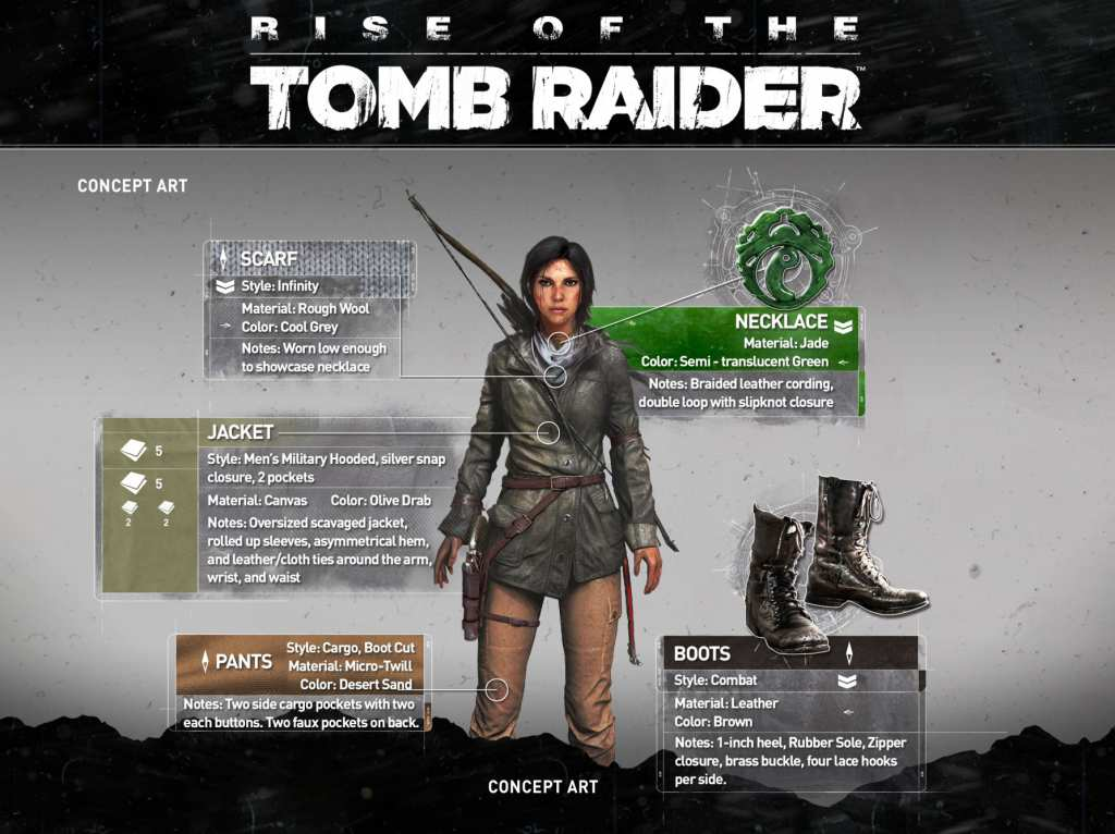Rise of the Tomb Raider Gear 4