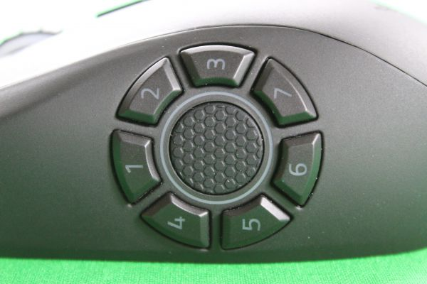 Razer Naga Hex v2 - Side button wheel