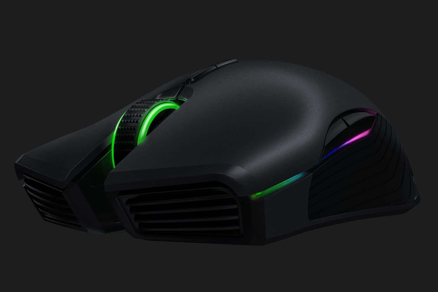 Razer Lancehead - wired or wireless - the choice is yours...