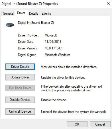 Ensure your drivers are up to date
