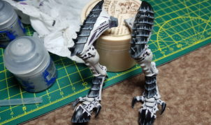 Tyranid Hive Fleet Dragur Black and White - Tervigon Tutorial 15