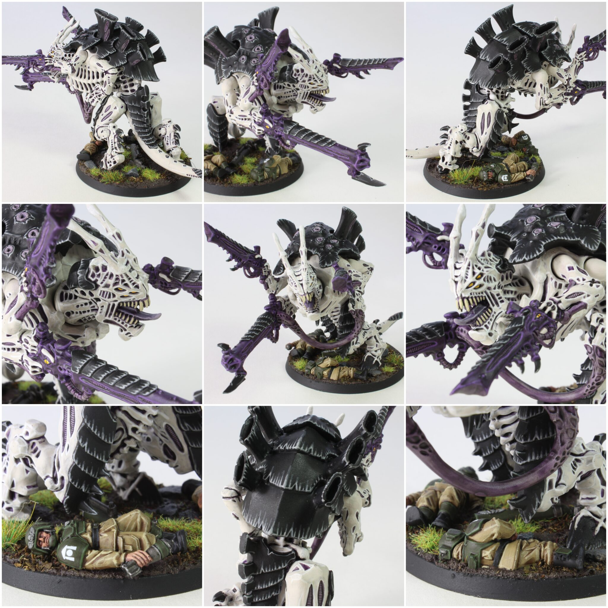 Tyranids - Carnifex - Venom Cannon - Collage