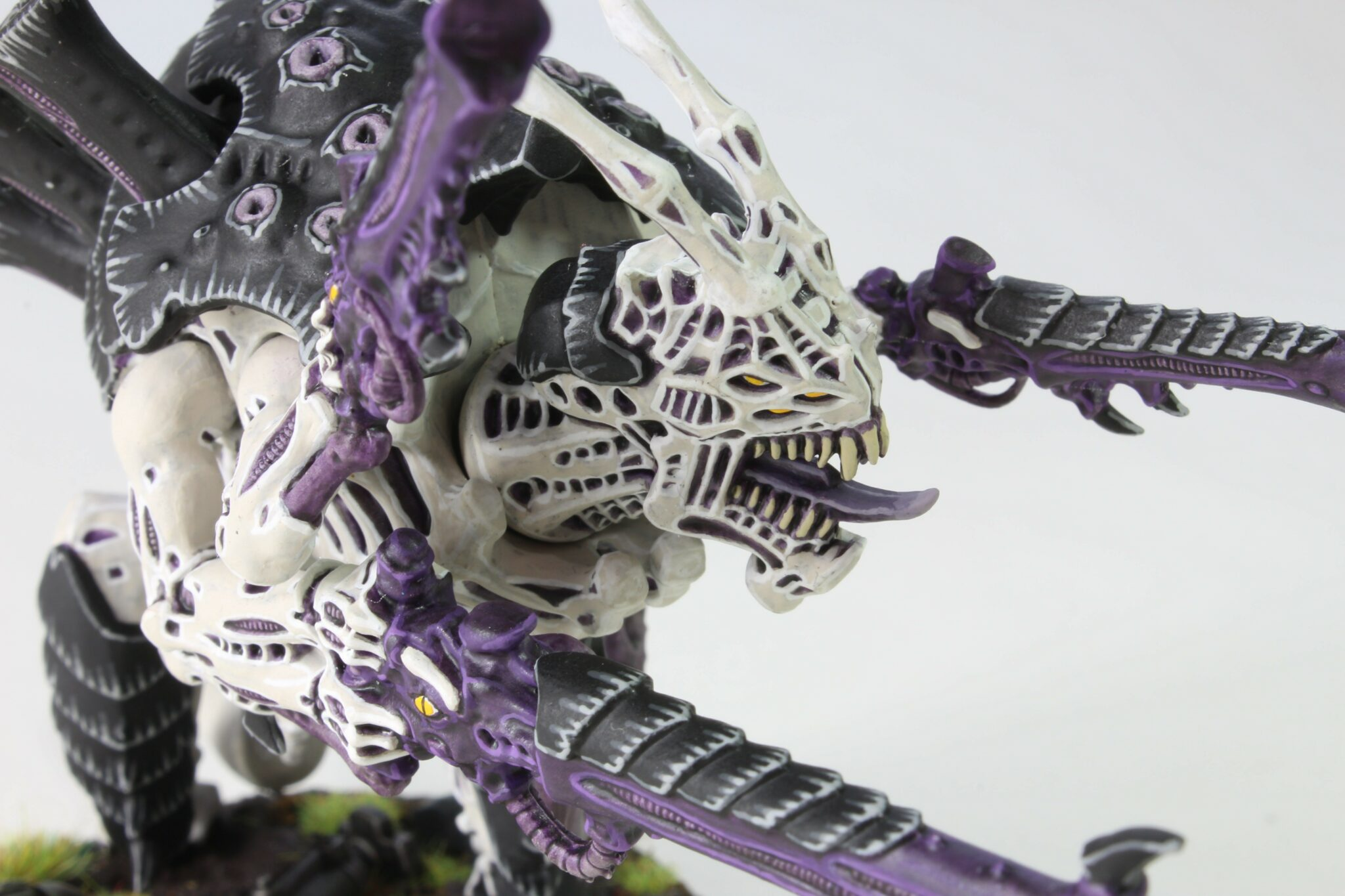 Tyranids - Carnifex - Venom Cannon - Face Right Side