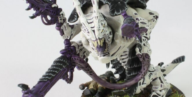 Tyranids - Carnifex - Venom Cannon - Front