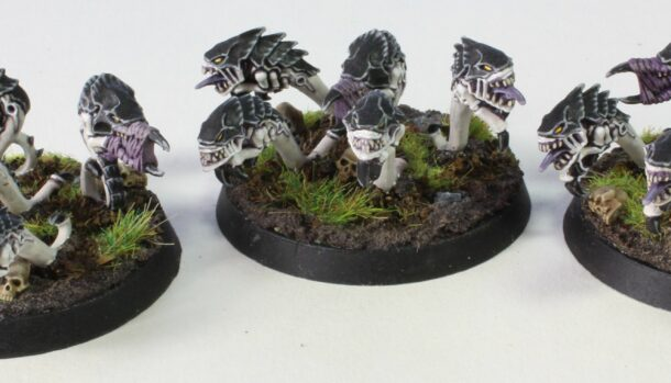 Tyranids - Rippers - Front Left Side