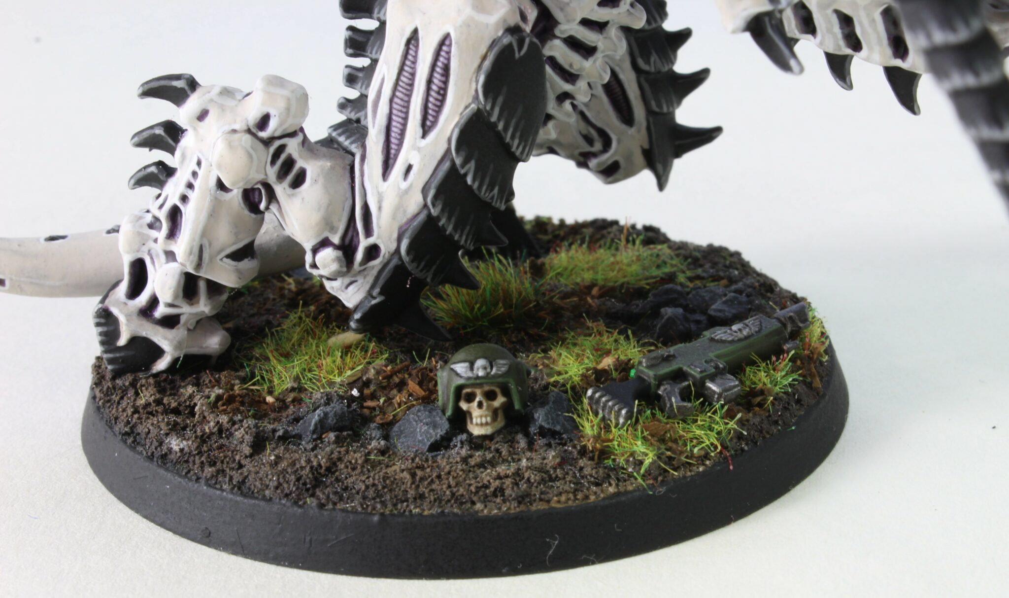Tyranids - Screamer Killer Carnifex - Scything Talons - Base Front Right