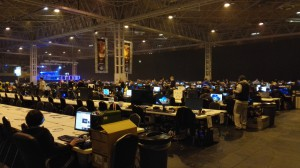 BYOC Hall......a little after